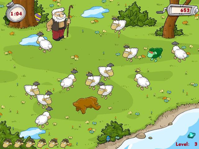 флеш игра овечка